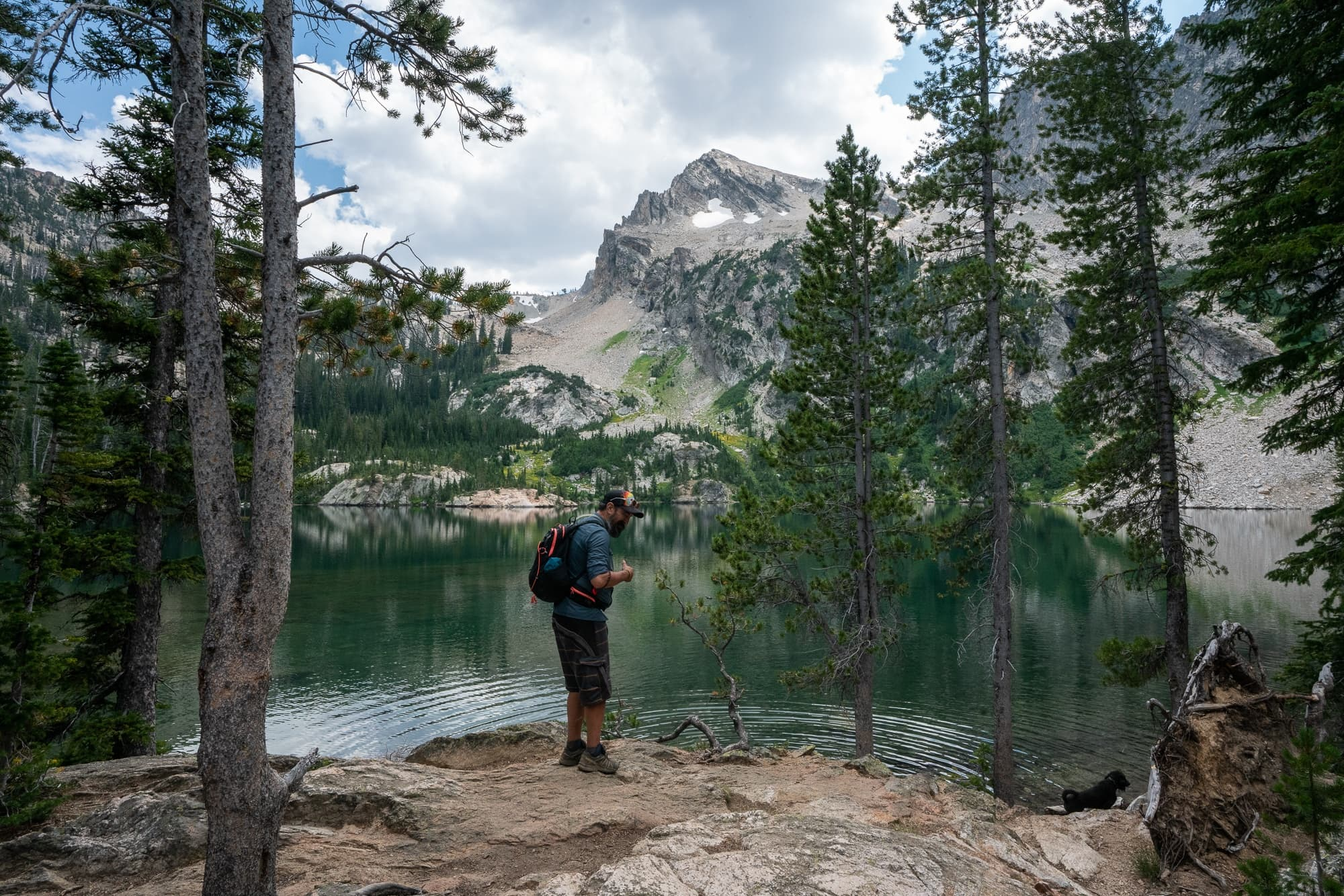 Alpine Lakes in the Sawtooths