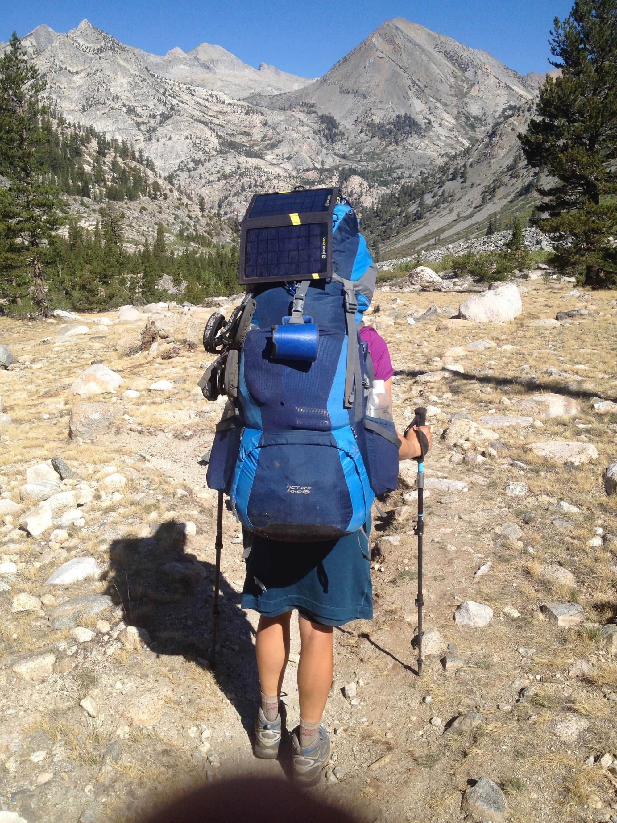 How not to pack a backpack for a multi-day trip