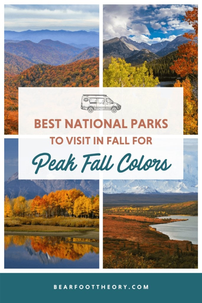 Discover the best National Parks to visit in fall for epic fall colors and foliage including tips on the best hikes, scenic drives, and more.