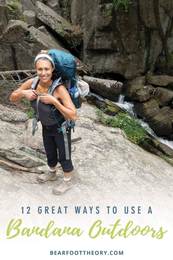 We're all about having efficient gear on the trail that can be used in multiple ways. Here are 12 ways to use a hiking bandana on your next adventure.