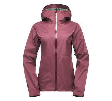 Black Diamond Stormline Stretch Women's Rain Shell is an ultralight rain shell for female hikers