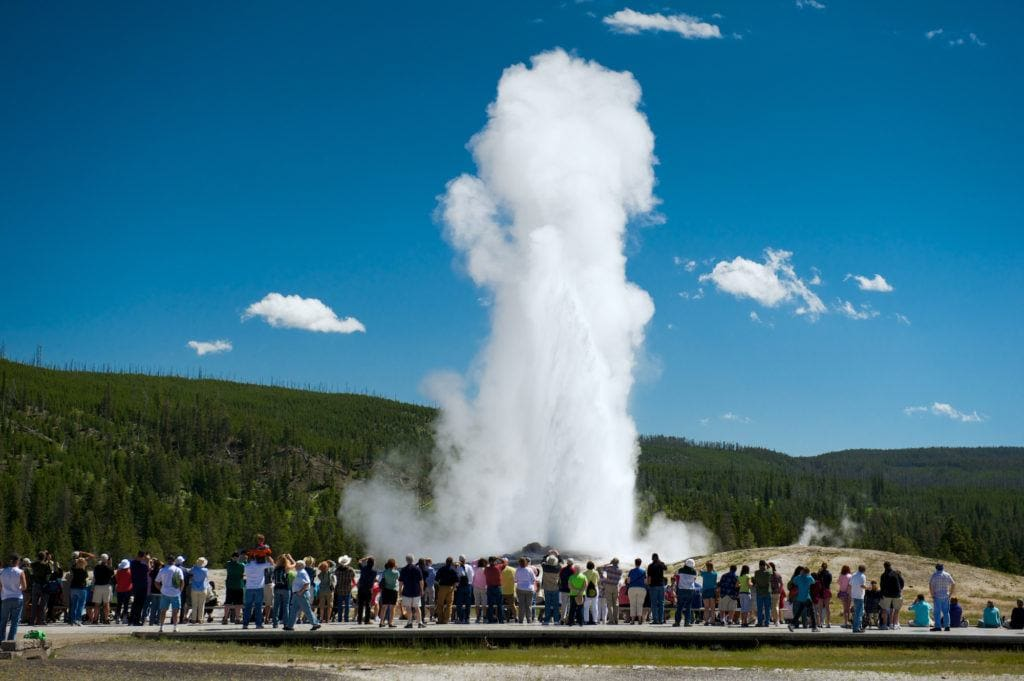 Looking to travel during COVID-19? Avoid tourist attractions and National Parks like Yellowstone where it's impossible to social distance