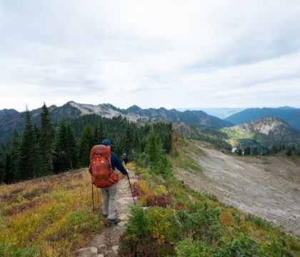 Get my full trail report from backpacking the High Divide Trail in Olympic National Park with REI Adventures, including info on campsites, gear & more.