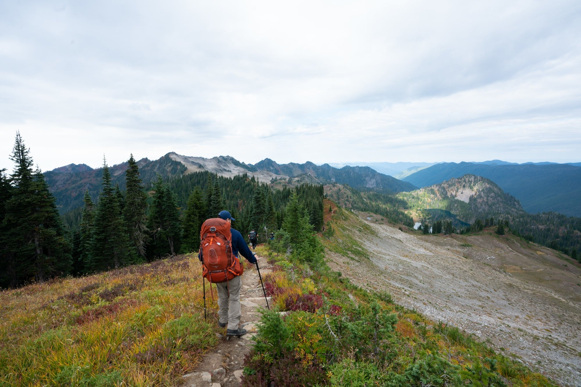 Backpacking the High Divide Trail in Olympic National Park with REI Adventures