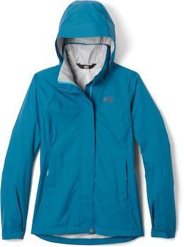 REI Rainier Women's Rain Jacket is a lightweight rain jacket for women that will keep you dry on hikes