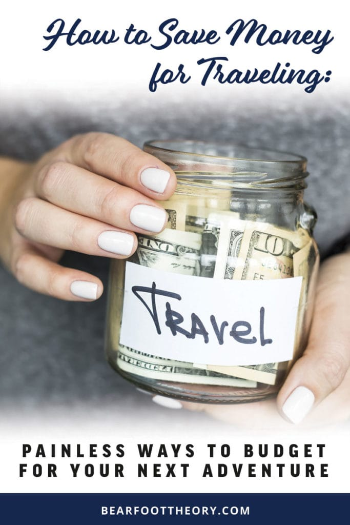Here are our favorite easy ways to save money for traveling & to plan a realistic vacation budget, so you can make your dream adventure a reality!