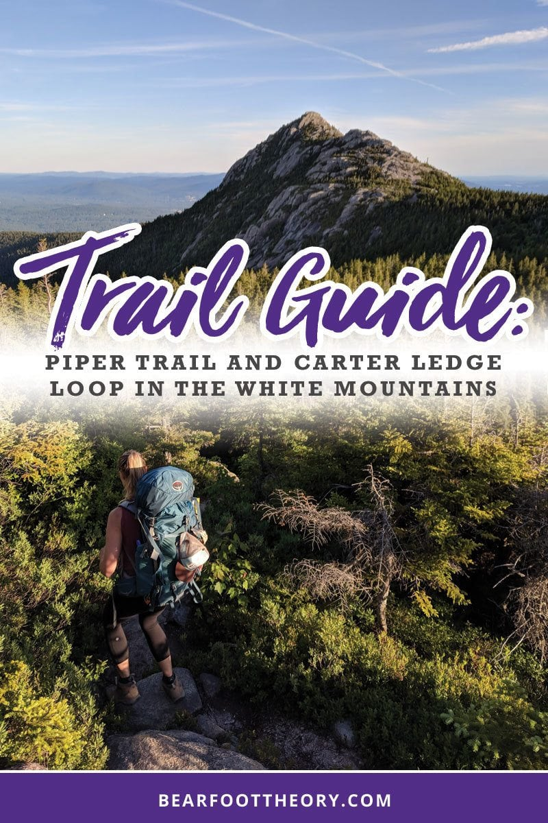 Plan an awesome backpacking trip in New Hampshire's White Mountains with our Piper Trail and Carter Ledge Loop Guide.