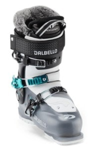 Dalbello Kyra Ski Boot // Understand flex ratings, ski boot features & how boots should fit before buying. We also share our favorite ski boots in our how to choose ski boots guide.