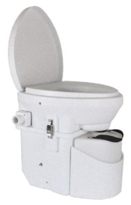 Nature's Head Composting Toilet // Where do vanlifers go to the bathroom? Learn about the best campervan toilet options, the pros and cons of each, and my method of choice.