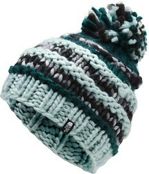 The North Face Nanny Knit Beanie is a great gift for any skier, snowboarder, or winter lover.