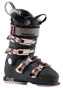 Rossignol Pure Pro // Understand flex ratings, ski boot features & how boots should fit before buying. We also share our favorite ski boots in our how to choose ski boots guide.