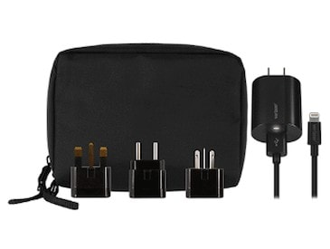 Stay powered up around the world with Verizon's International Travel Charger Kit that includes swappable adapters for most global locations. Plus, it has a 6-foot cord so you won't be bound to short cables in airports or hotels. A perfect travel tech gift for the wanderluster in your life or even yourself!