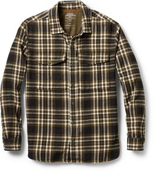 REI Co-op's Wallace Lake Men's Flannel Shirt is a classic that looks good all around, making it the perfect holiday gift.