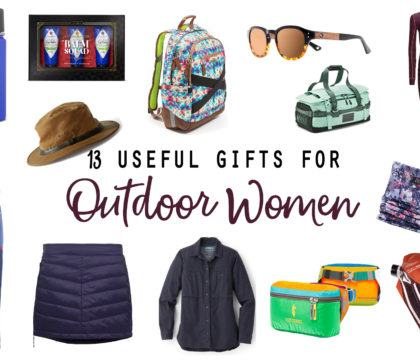 Shopping for the adventurous lady in your life? Here are 13 functional outdoor gifts for women that we've been eyeing this holiday season.