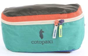 These Cotopaxi Bataan Del Dia Fanny Packs are one of a kind with fun, bold colors and are made from repurposed fabric that would otherwise go to waste - so you can feel even better about wearing it.