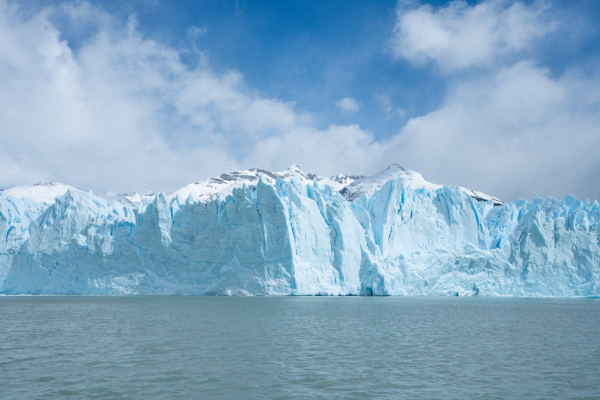 Boat tour of the Perito Moreno Glacier in El Calafate, Argentina (Patagonia)