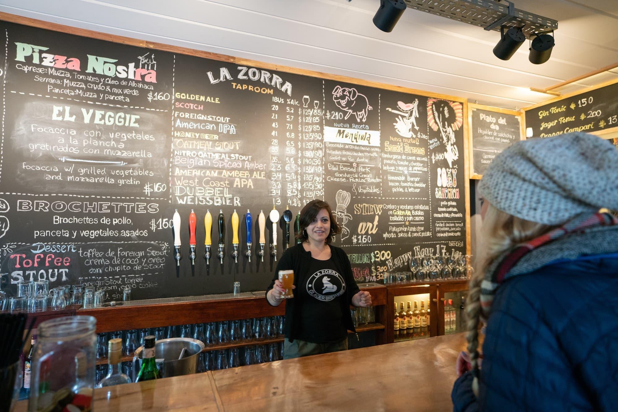 Bar hopping in El Calafate Argentina
