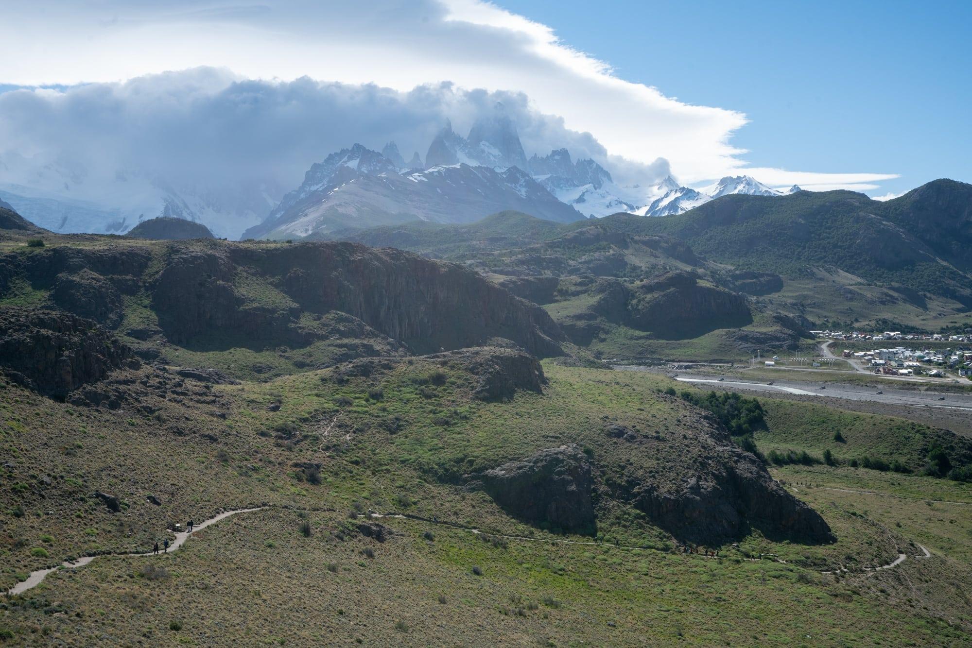 Hiking to Miradores de los Condores in El Chalten
