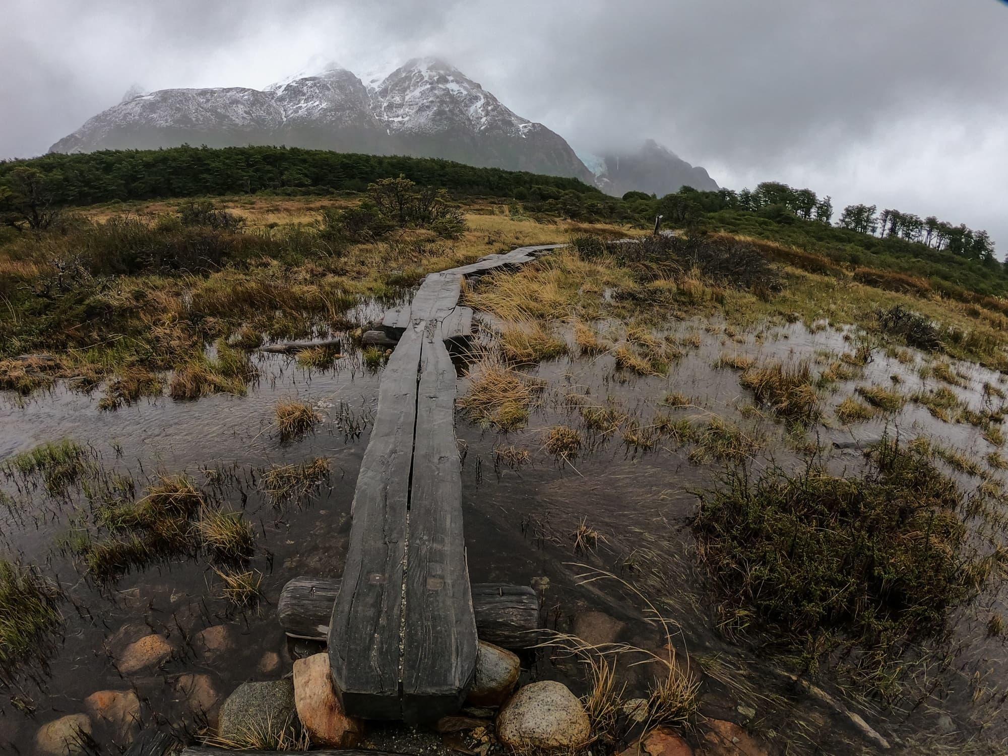 Hiking to Laguna De Los Tres in El Chalten, Argentina