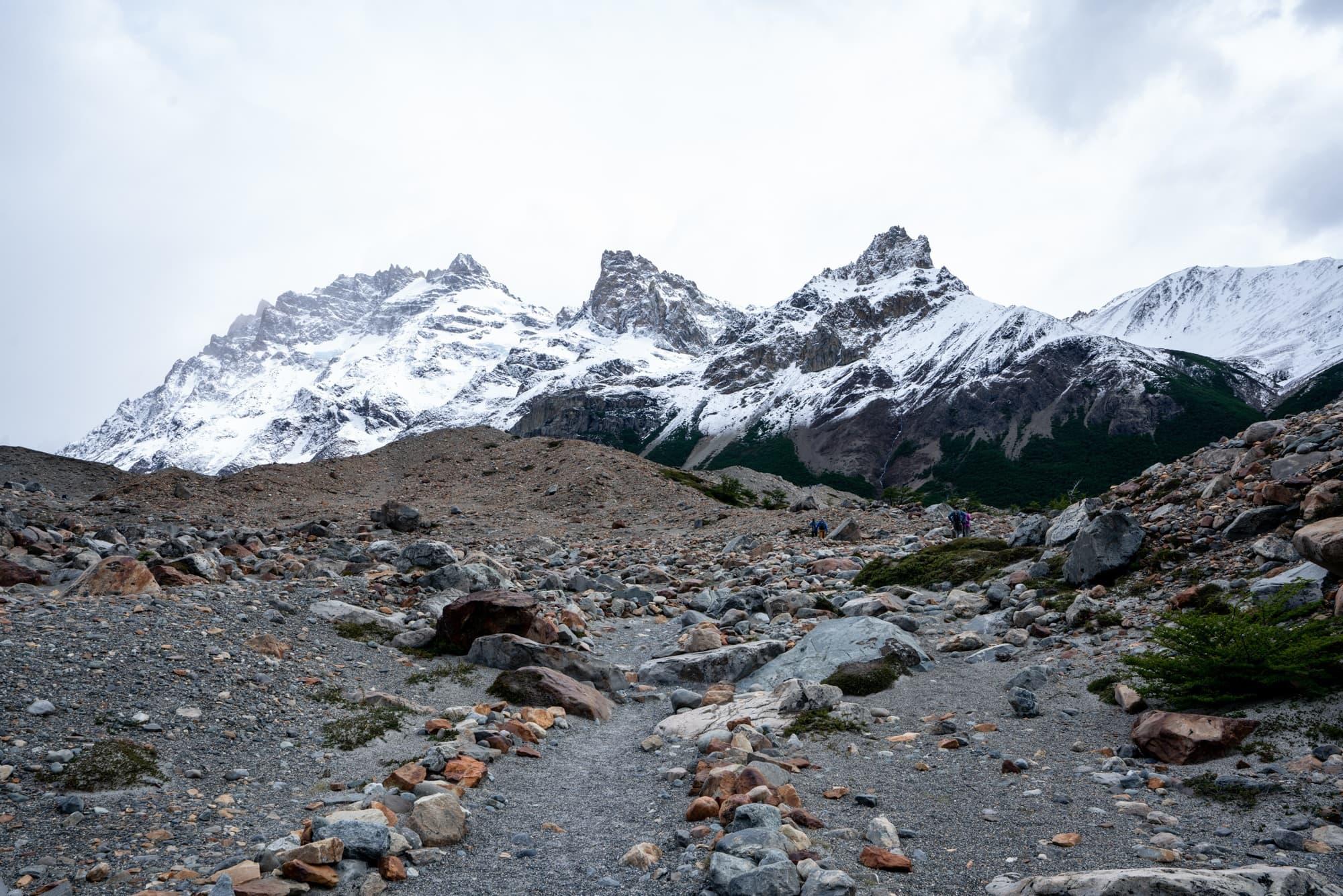 Hiking to Cerro Torre in El Chalten (Patagonia)