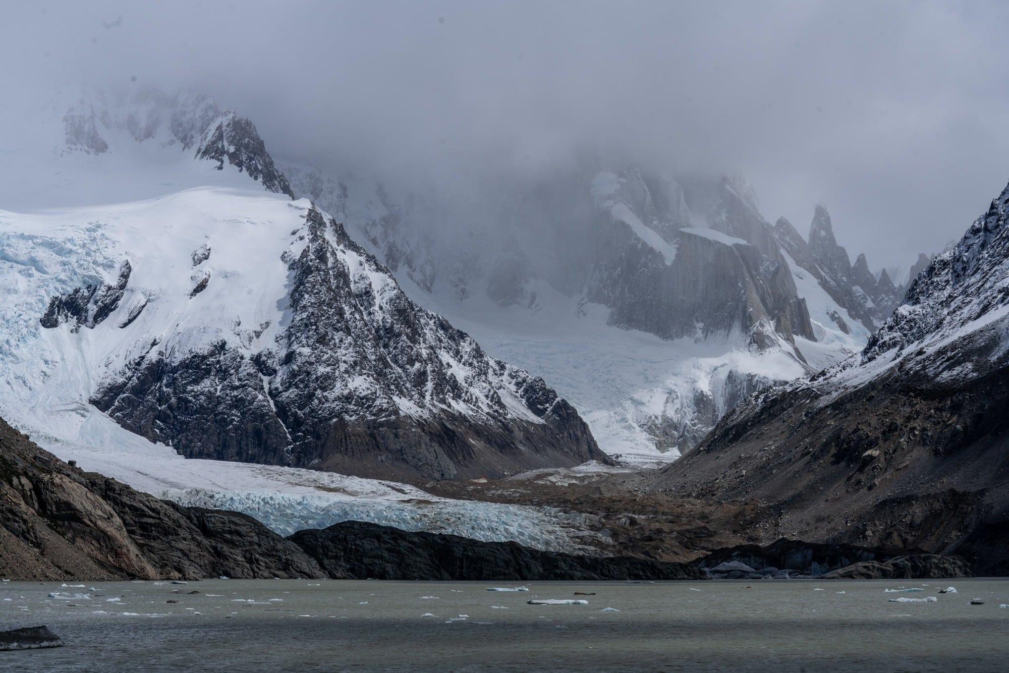 Hiking to Cerro Terro in El Chalten (Patagonia)