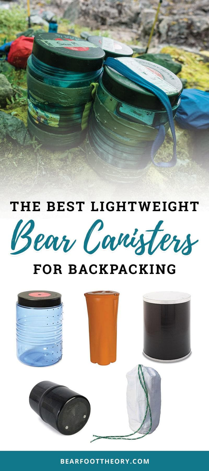 A roundup of the best bear canisters for backpacking with info on every canister's weight, pros and cons, and tips for using them.