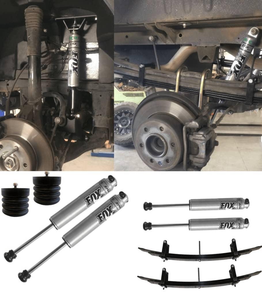 Van Compass Sprinter Van suspension kit