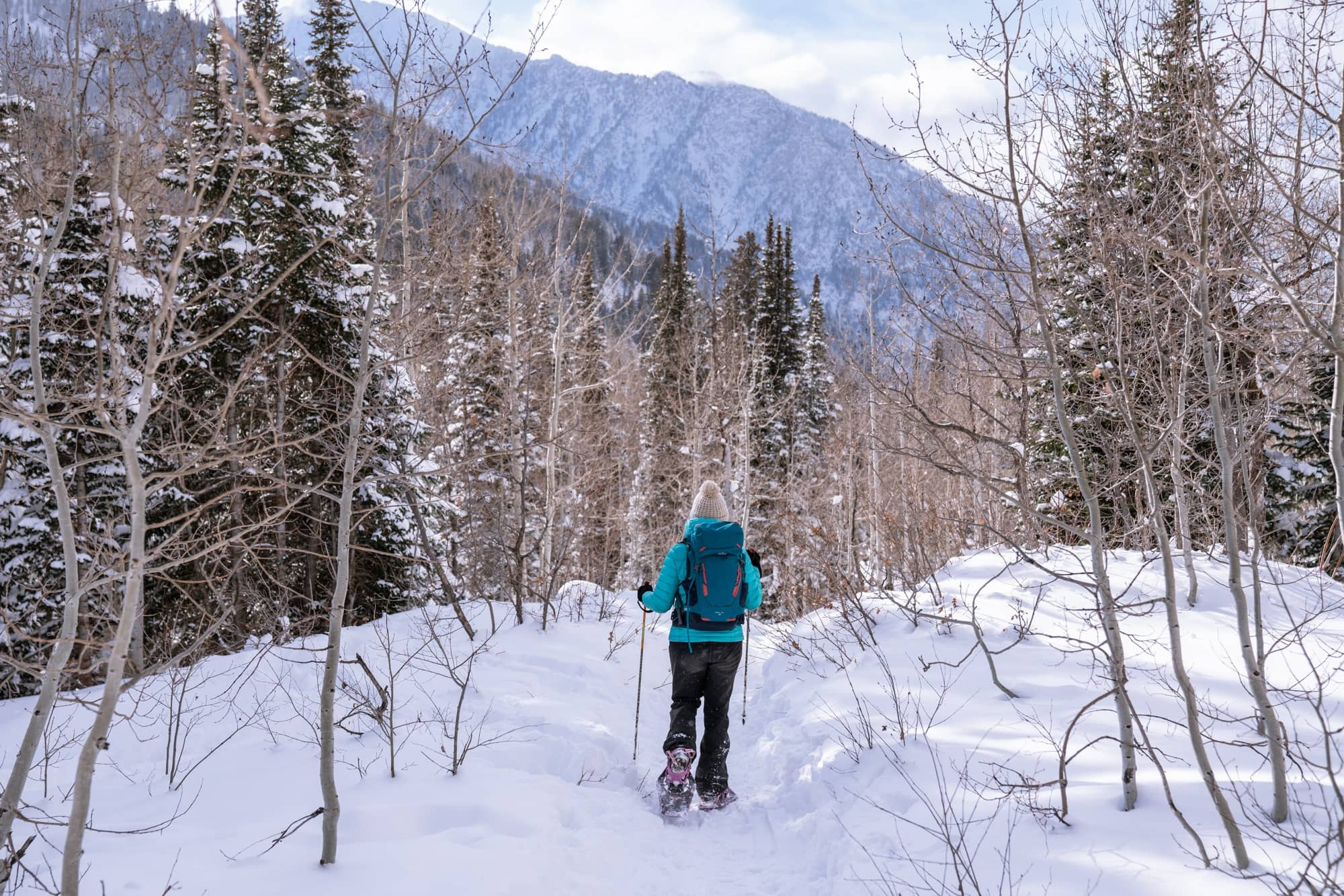 New to snowshoeing? Learn how to snowshoe, along with info on finding trails, snowshoeing gear, and important safety tips with our snowshoeing 101 guide.