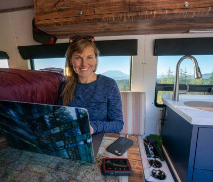 Wondering how to stay connected when traveling and road-tripping? This guide to van life internet shares how to get WiFi on the road.