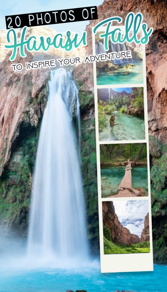 Get inspired to visit Havasupai in Arizona! Here are my favorite Havasu Falls photos along with tips and advice for planning your backpacking trip.