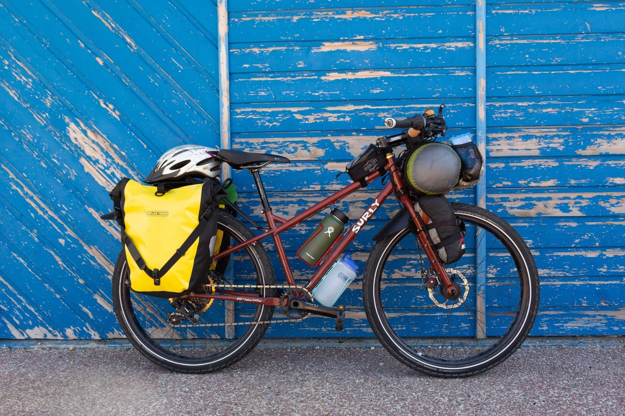 This guide will help you plan a bike touring trip in France on the Velodyssee Atlantic cycling route with tips on bike transport, gear, camping & more.