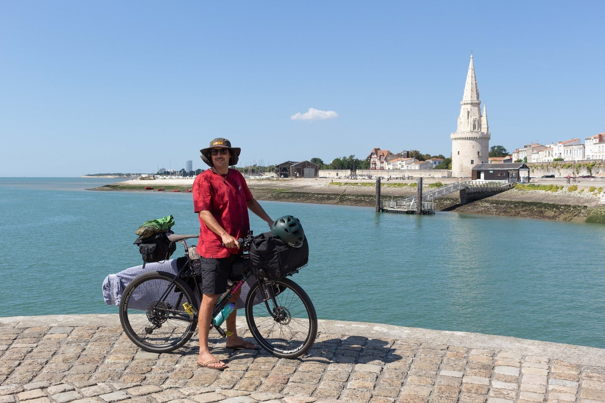 This guide will help you plan a bike touring trip in France on the Velodyssee Atlantic cycling route along the French coast.