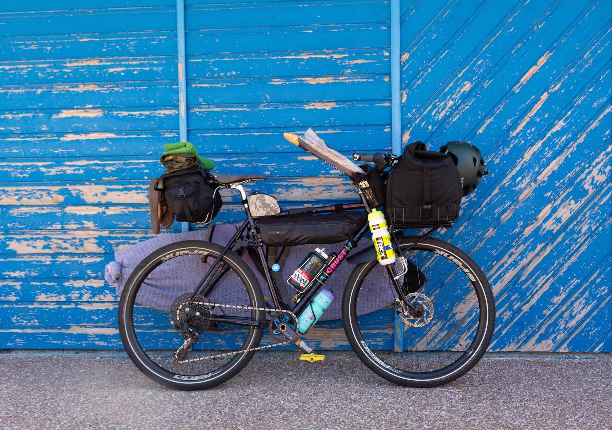 Your guide to bike touring gear so you're prepared for a multi-day bike trip including touring bikes, seats, panniers, clothing, camping gear, and more.