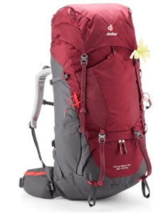 Deuter Aircontact Lite SL Pack // Get the scoop on the best backpacking backpacks for women that are comfortable and lightweight and learn how to choose the best pack for you.