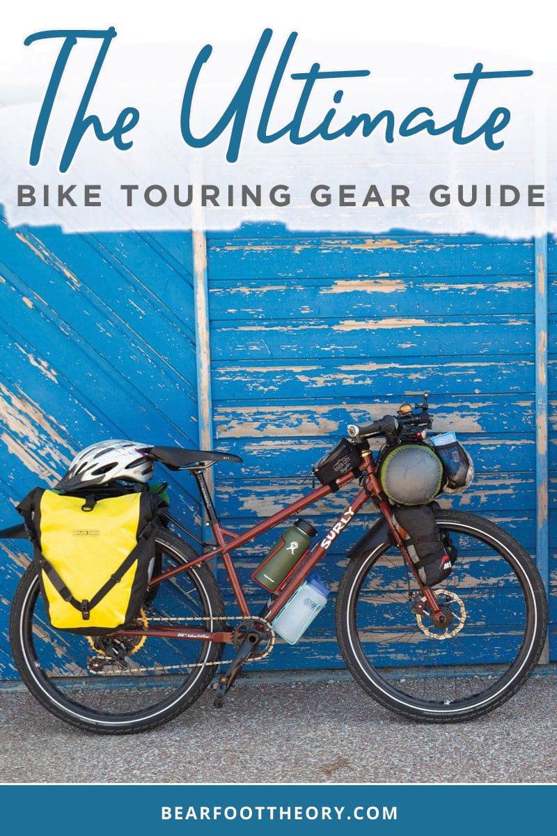 Get our bike touring gear checklist for a multi-day bikepacking trip, with info on bikes, seats, panniers, clothing, camping gear & more.