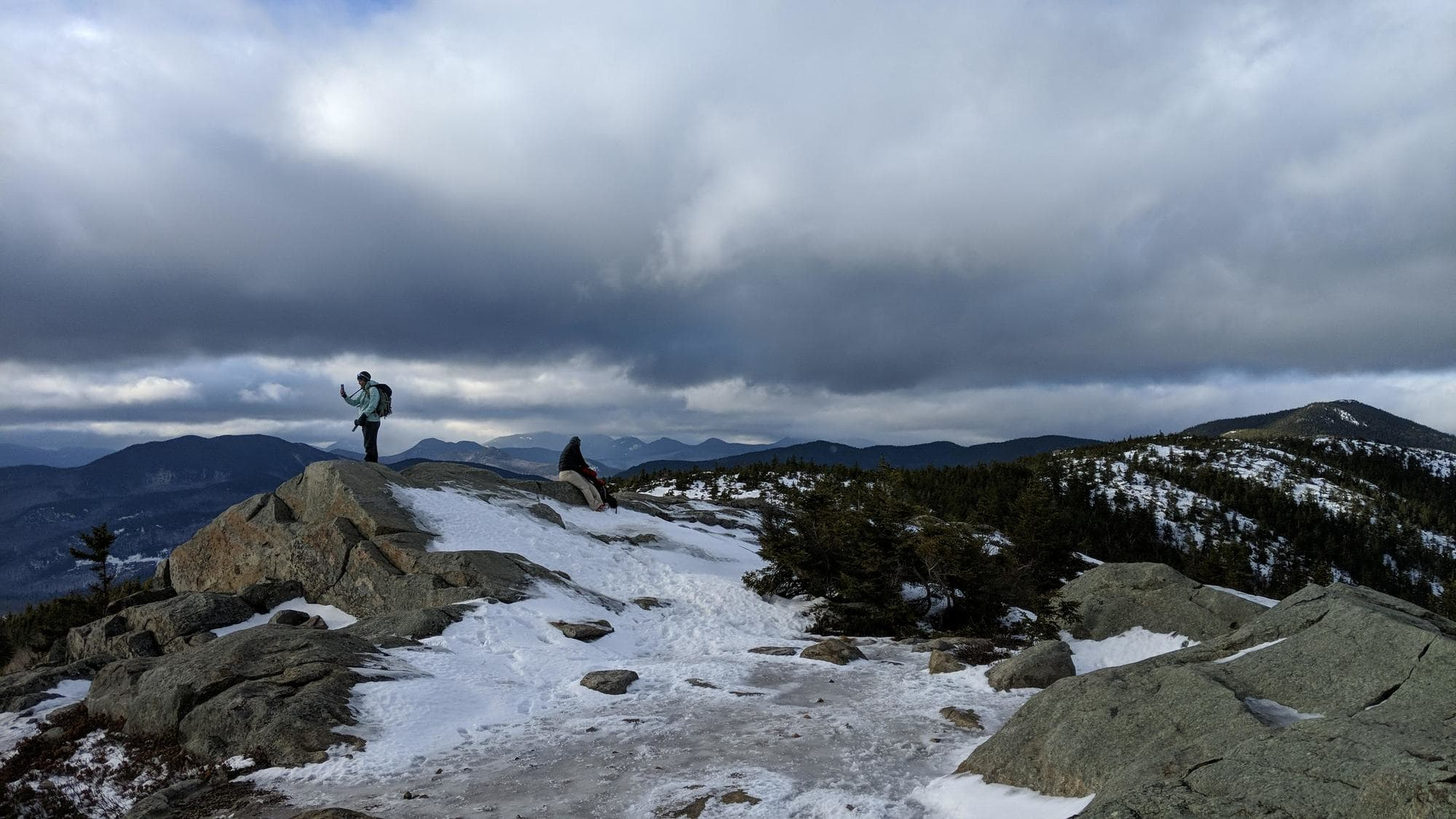 Looking for a winter hike in New Hampshire? Our trail guide to hiking South Mount Mountain in the winter includes what to bring, trail tips and more.
