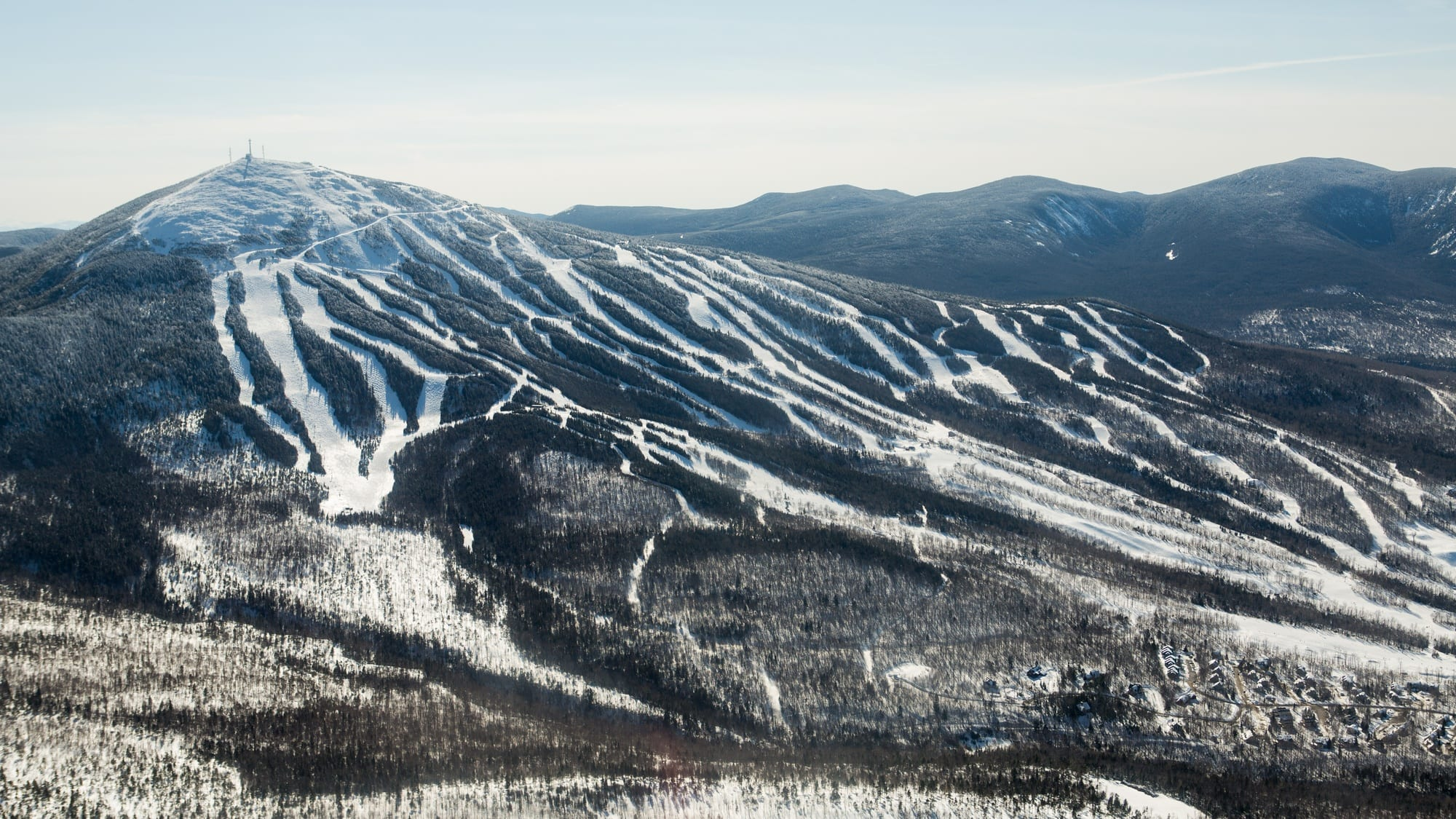 Sugarloaf Mountain / Looking for some great East Coast ski slopes to learn to ski on? Read our list of the best New England ski resorts that are perfect for beginners.