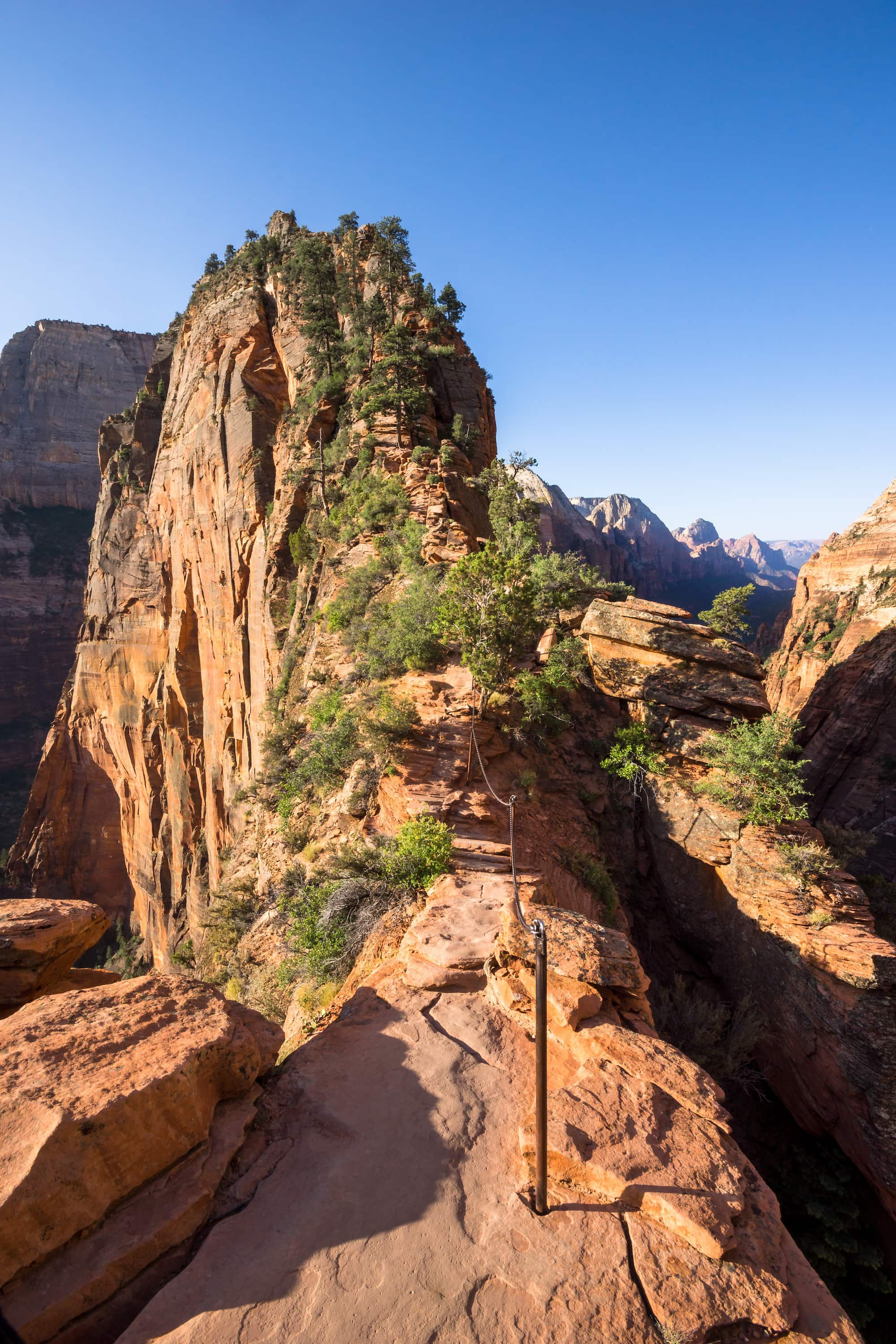 Angel's Landing in Zion National Park // A round-up of the best hikes in Utah. Explore Utah's epic landscapes and get tips for tackling these bucketlist trails.