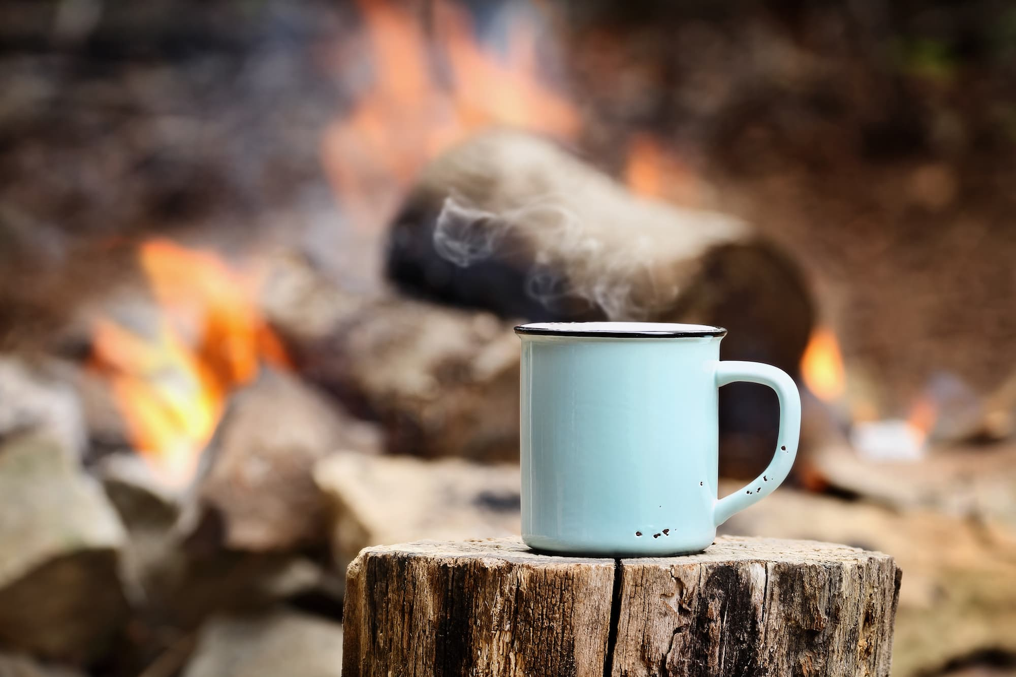 Five ways to make great camp coffee, the tools you need for a strong and tasty cup, and the best instant coffee mixes for backpacking.