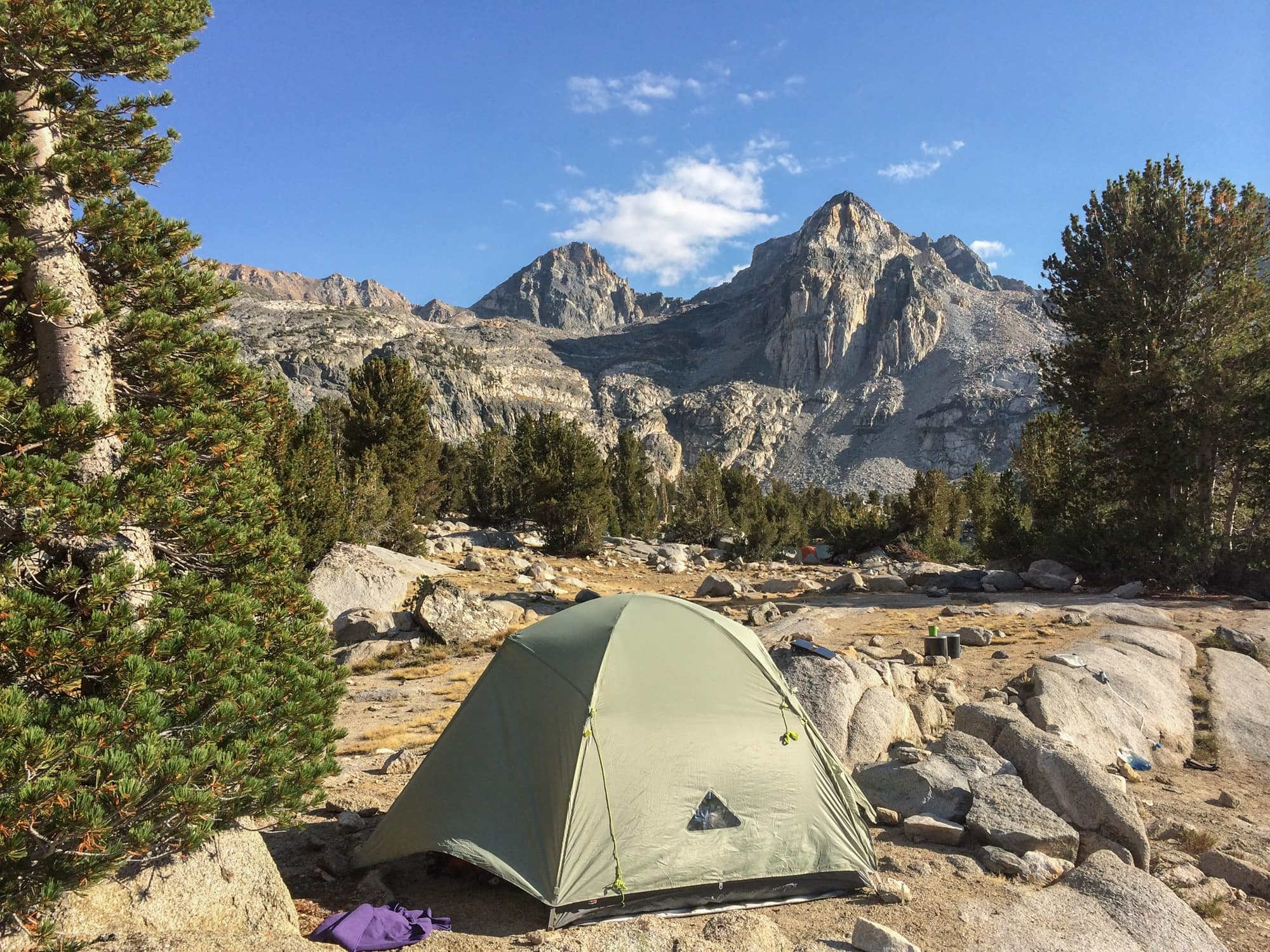 Prepare for the John Muir Trail by brushing up on Leave No Trace. Get tips for going to the bathroom, choosing a campsite, food storage & more on the JMT.