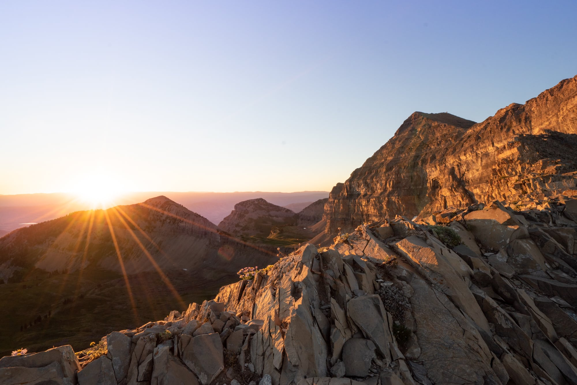 Mount Timapanogos is one of the tallest peaks in the Wastach Mountains // A round-up of the best hikes in Utah. Explore Utah's epic landscapes and get tips for tackling these bucketlist trails.