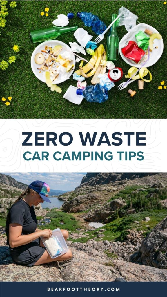 Ditch disposable items and single-use plastics and learn how to reduce waste while car camping for a more sustainable, eco-friendly trip.
