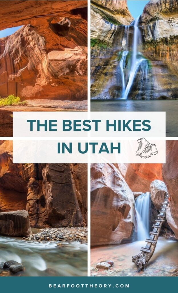 A round-up of the best hikes in Utah! Get tips for exploring these bucket list trails from Utah's National Parks to SLC's highest peaks.