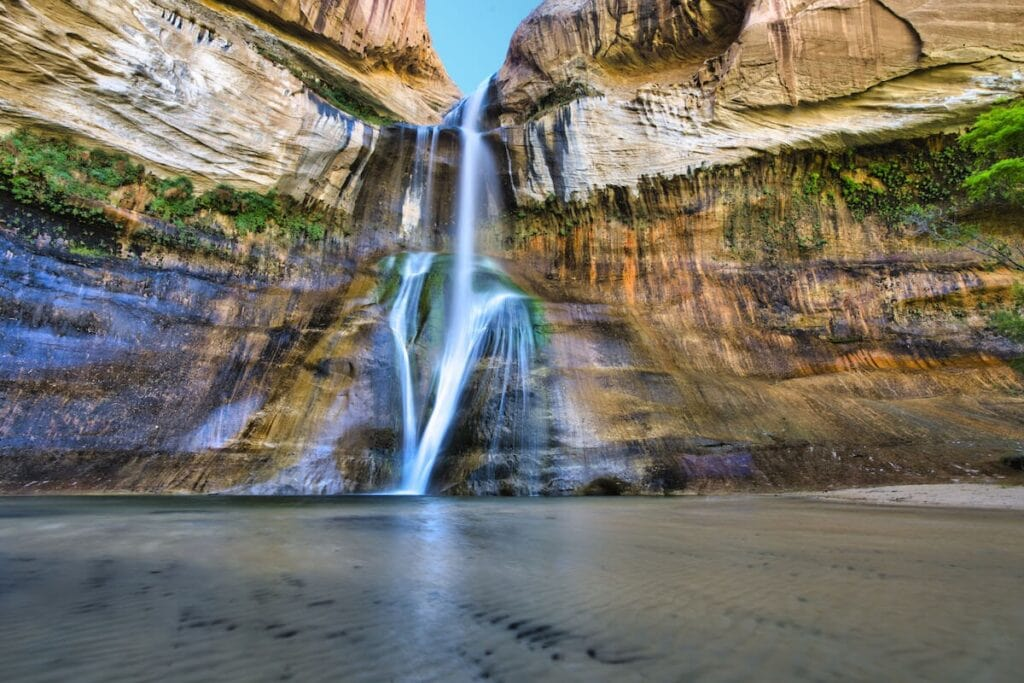 Calf Creek Falls Trail // A round-up of the best hikes in Utah. Explore Utah's epic landscapes and get tips for tackling these bucketlist trails.