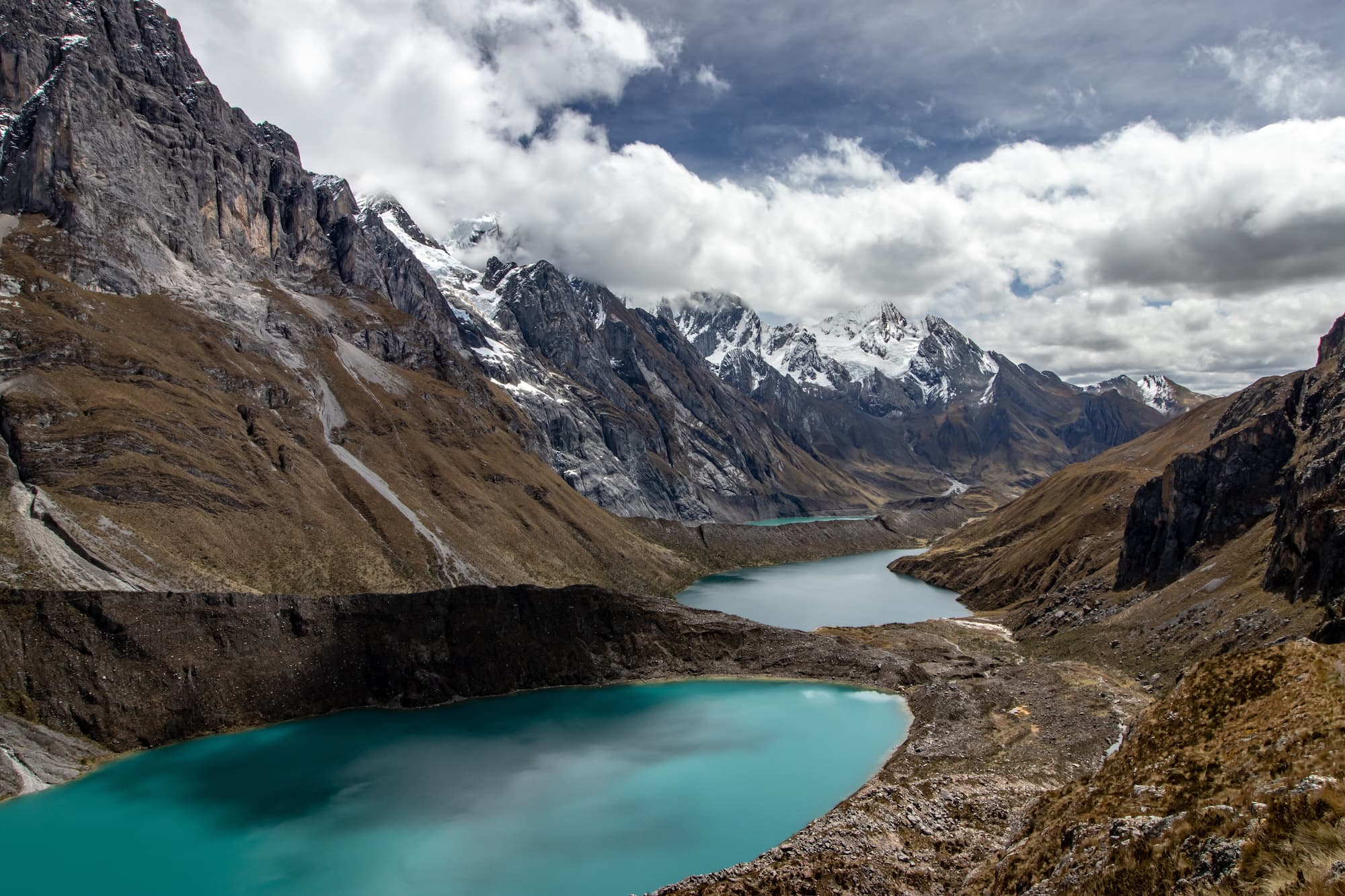 Cordillera Huayhuash Circuit, Peru // A round-up of 14 amazing domestic & international travel destinations at the top of their adventure bucketlist for 2019.