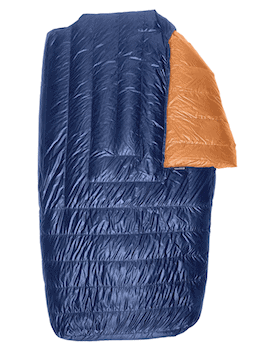Enlightened Equipment Accomplice Lightweight Two Person Quilt // One of the best 2-person sleeping bags for backpacking