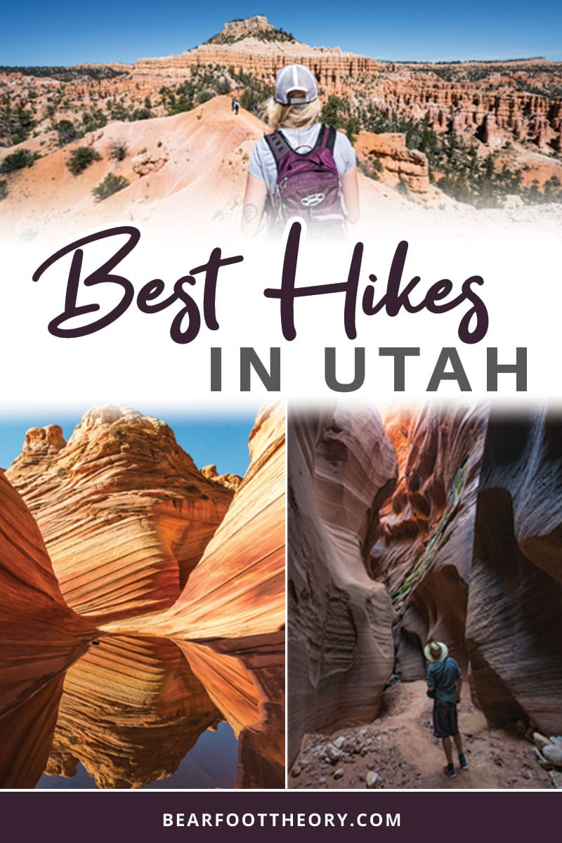 A round-up of the best hikes in Utah. Explore Utah's epic landscapes and get tips for tackling these bucketlist trails.