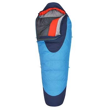 Best Budget Down Sleeping Bag: Kelty Cosmic DriDown Sleeping Bag // The best sleeping bags for backpacking are lightweight, warm, and comfortable. Here's our favorite sleeping bags for variety of budgets.