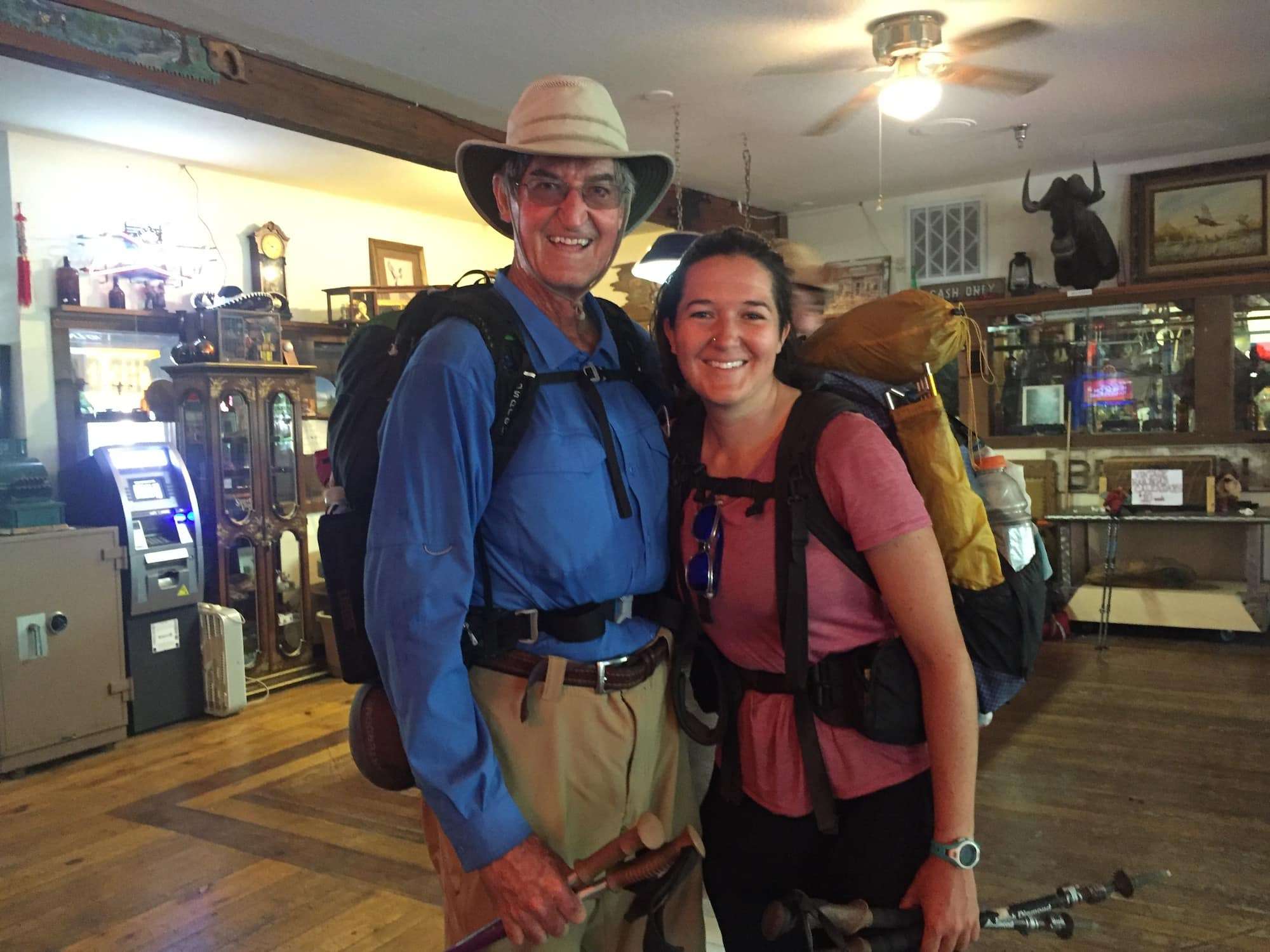 Tips and advice for meeting up with friends and family while thru-hiking the Pacific Crest Trail and how friends and family can support you on your hike.