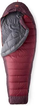 REI Joule Sleeping Bag // An essential piece of gear that makes our 3-day backpacking checklist
